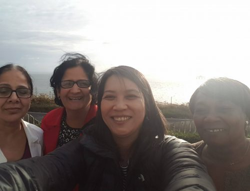 W1MEW group selfie at the Away Day